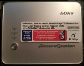 Portable Sony DPP-FP30 Digital Photo Thermal Printer with PictBridge and USB connection