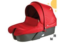 BRAND NEW BOXED Stokke xplory carry cot red