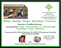 200 Hr Hatha Yoga teacher certification course