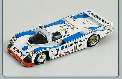 1/43 Porsche 962 C Blaupunkt Le Mans 24 Hrs 1988 7 Hobbs/theys/konrad