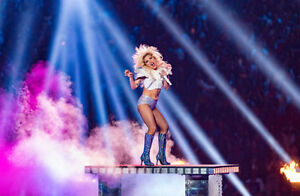 Lady Gaga Tickets Edmonton Aug 3 -LOWER BALCONY ROW 1 !!!