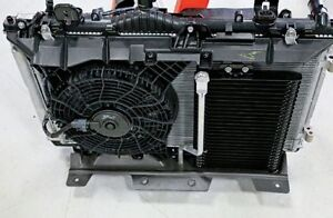 2004 radiator/ac condensor and fan assembly dodge caravan