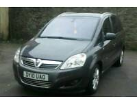 2010 Vauxhall zafira 1.8 petrol Elite 7 Seater Full leather heated seat cheap and Bargain price