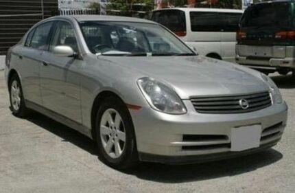 2001 Nissan Skyline V35 250GT Silver 5 Speed Sports Automatic Sedan