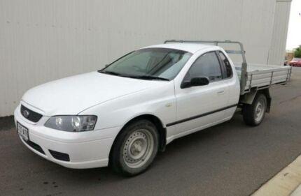 2006 Ford Falcon BF XLS White 4 Speed Auto Seq Sportshift Cab Chassis Kadina Copper Coast Preview