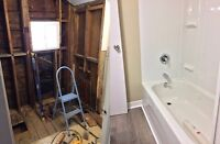 Bathroom, Kitchen, and Basement Renovation Specialist