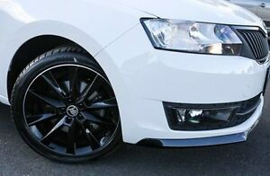 2016 Skoda Rapid NH MY16 Monte Carlo Spaceback DSG White 7 Speed Sports Automatic Dual Clutch Nunawading Whitehorse Area Preview