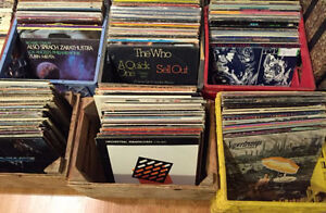 ENORMOUS VINYL RECORD COLLECTION FOR SALE