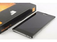 "SONY Xperia T3 Balck 5.3"" 8GB QuadCore 4G PERFECT"