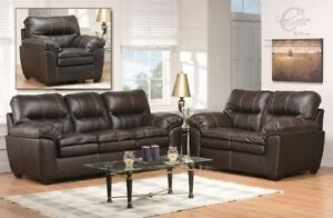 BRAND NEW 3PC SOFA SET FOR SALE-CANADIAN MADE-CHOICE OF COLORS