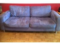 Sofa,armchair @ two footstools