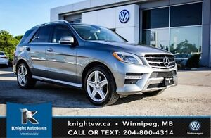 2013 Mercedes-Benz M-Class ML 350 BlueTEC AMG AWD w/ Drive Assis
