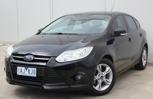 2013 Ford Focus LW MKII Trend Black 5 Speed Manual Hatchback Berwick Casey Area Preview
