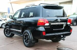 2012 Toyota Landcruiser VDJ200R MY12 Sahara Black 6 Speed Sports Automatic Wagon Wangara Wanneroo Area Preview
