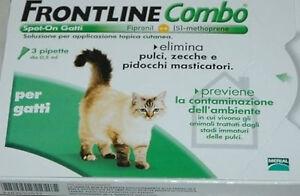 frontline combo antiparassitario per gatti per contro anti. Black Bedroom Furniture Sets. Home Design Ideas