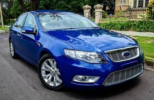 2008 Ford Falcon FG G6E Blue 6 Speed Sports Automatic Sedan Medindie Walkerville Area Preview
