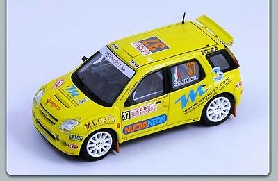 Suzuki Ignis S1600 WRC, Scorcioni 2005 Monte Carlo Car, Spark S0625 Diecast 1/43