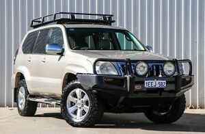 2006 Toyota Landcruiser Prado GRJ120R Grande Bronze 5 Speed Automatic Wagon Willetton Canning Area Preview