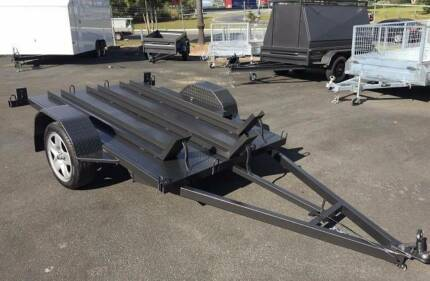 BRAND NEW 8x5 MOTORBIKE TRAILERS - *FINANCE AVAILABLE* Tanah Merah Logan Area Preview