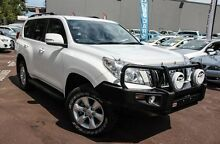 2013 Toyota Landcruiser Prado KDJ150R GXL White 5 Speed Sports Automatic Wagon Cannington Canning Area Preview