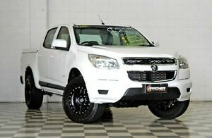 2013 Holden Colorado RG MY14 LT (4x2) White 6 Speed Automatic Crew Cab P/Up Burleigh Heads Gold Coast South Preview