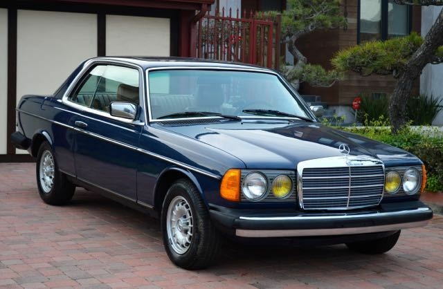1985 Mercedes-Benz 300-Series 2 door coupe 1985 Mercedes 300CD turbo diesel coupe gorgeous blue with tan interior