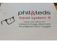 Phil & Ted travel system 4 pram to car seat adaptor