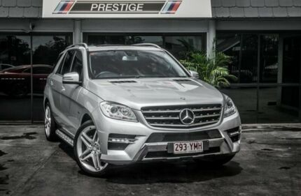 2012 Mercedes-Benz ML250 CDI BlueTEC 166 4x4 Silver 7 Speed Automatic Wagon Bowen Hills Brisbane North East Preview