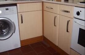 16 Brand New Brushed Nickel Kitchen Cabinet Door Handles