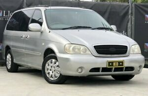 2005 Kia Carnival LS Silver Automatic 5-Door Wagon Carrara Gold Coast City Preview