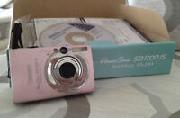 Canon PowerShot SD1100 IS Digital Elph Pink Camera