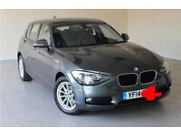 2014 BMW 118d in gunmetal gray all parts available...... BRAKEING....