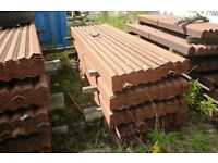 Palisade Fencing- Pales - 2.3 mt and 1.8 mt - (stock rusty)