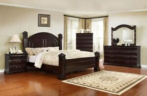 8PCS QUEEN SIZE BEDROOM SET ONLY $2099 LOWEST PRICE Kitchener / Waterloo Kitchener Area image 1
