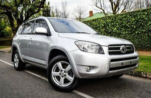 2007 Toyota RAV4 GSA33R MY08 SX6 Silver 5 Speed Automatic Wagon Medindie Walkerville Area Preview