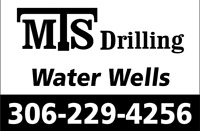 MTS Drilling, Water well drilling and servicing