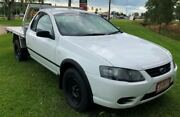 2008 Ford Falcon BF Mk II RTV Super Cab White 5 Speed Manual Cab Chassis Berrimah Darwin City Preview