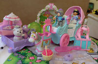 Carrosse - Princesse - pouliche - Fisher-Price Little People 25$