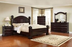 8PCS QUEEN SIZE BEDROOM SET ONLY $2099 LOWEST PRICE Cambridge Kitchener Area image 1