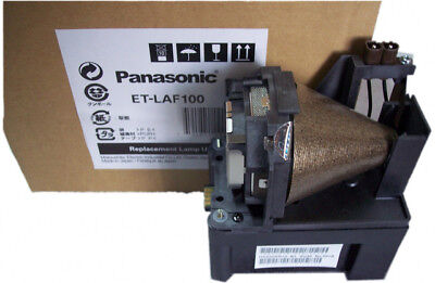 Genuine PANASONIC F100 WIRELESS, PT-F100NT, PT-F100NTEA Projector Lamp ET-LAF100 for sale  Shipping to India