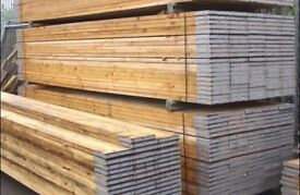 Scaffold Boards * Used * Banded & Graded * Good Condition