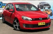 2012 Volkswagen Golf VI MY12.5 GTi Red Sports Automatic Dual Clutch Hatchback Campbelltown Campbelltown Area Preview