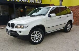2006 BMW X5 E53 MY06 White 5 Speed Automatic Wagon Upper Ferntree Gully Knox Area Preview