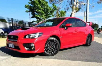 2015 Subaru WRX MY15 STi Mount Fuji Red 6 Speed Manual Sedan