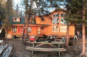 Cabin Lake Front Lac La Plonge Saskatchewan