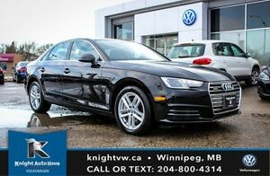 2017 Audi A4 AWD w/ Paddle Shifting/Leather/Sunroof