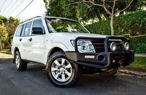 2013 Mitsubishi Pajero NW MY13 GLX White 5 Speed Sports Automatic Wagon Medindie Walkerville Area Preview