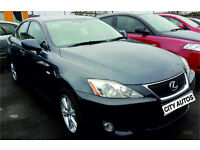 LEXUS IS220D 2008 113,000 MILES 2.2 DIESEL SALOON MANUAL GREY