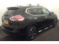 2014 NISSAN X-TRAIL 1.6 DCI TEKNA GOOD / BAD CREDIT CAR FINANCE FROM 64 P/WK