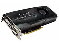 GRAPHICS CARD - EVGA GeForce GTX 660 Ti 2GB